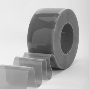 Фото: ПВХ завеса стандартная серая пленка 2х200 мм